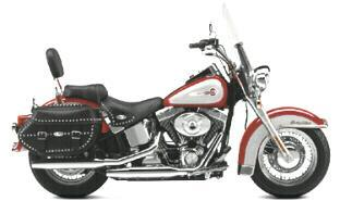 Rent a HD Heritage Softail for your vacation / holiday in America - Hire, Lend, Louer, Verhuur, Mieten